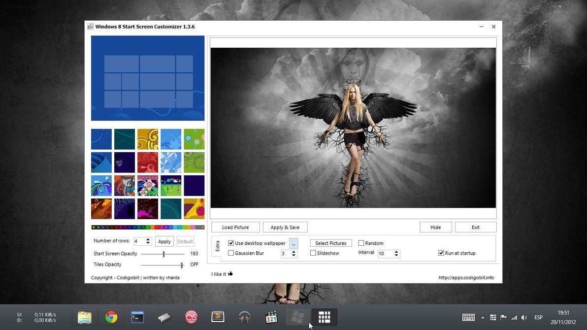 Personalizar pantalla de Inicio de Windows 8